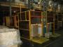 Вибростолы для уплотнения загрузки изделий, загружаемых насыпом